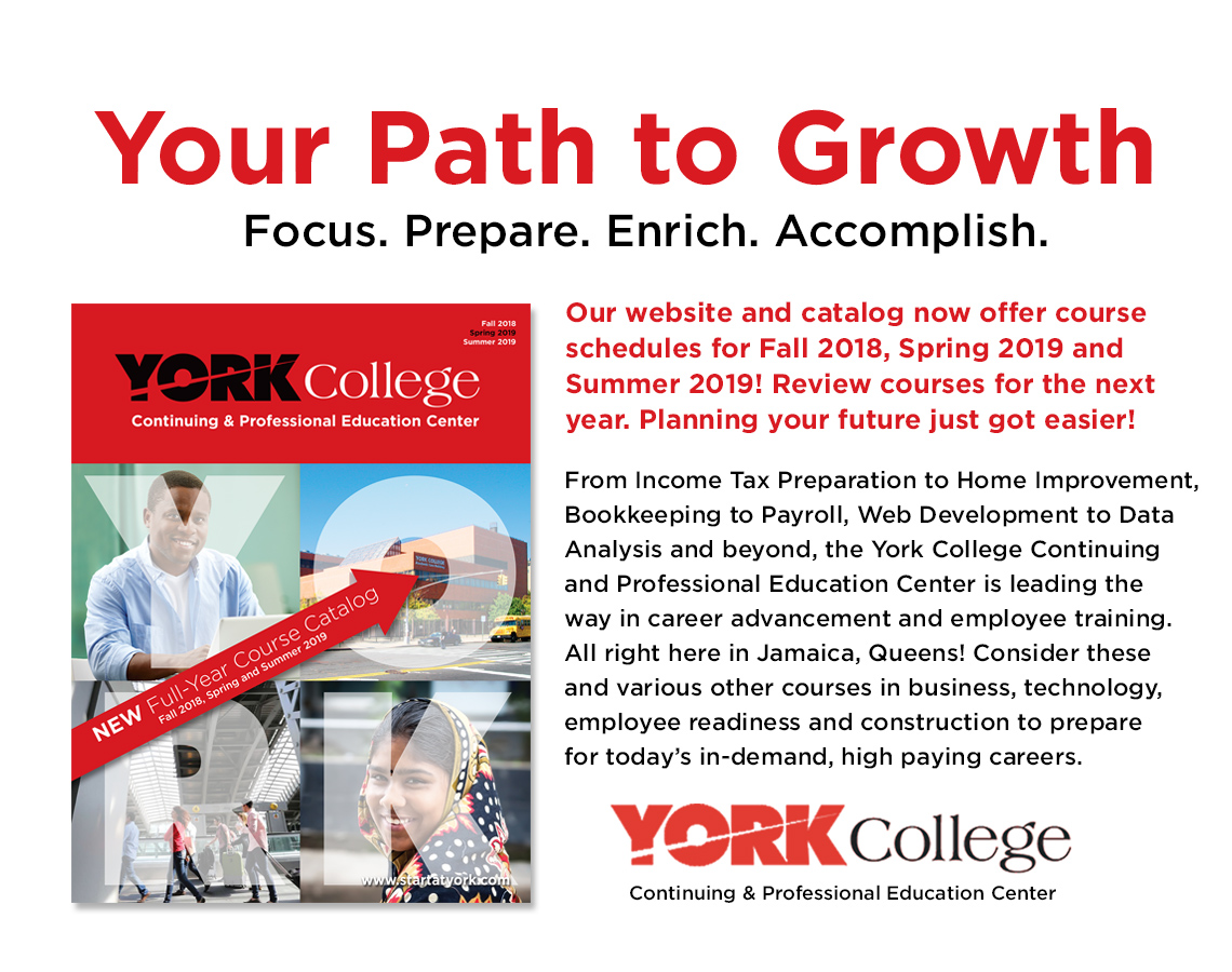 Cuny Spring 2020 Calendar.York College Continuing And Professional Studies Registration Portal